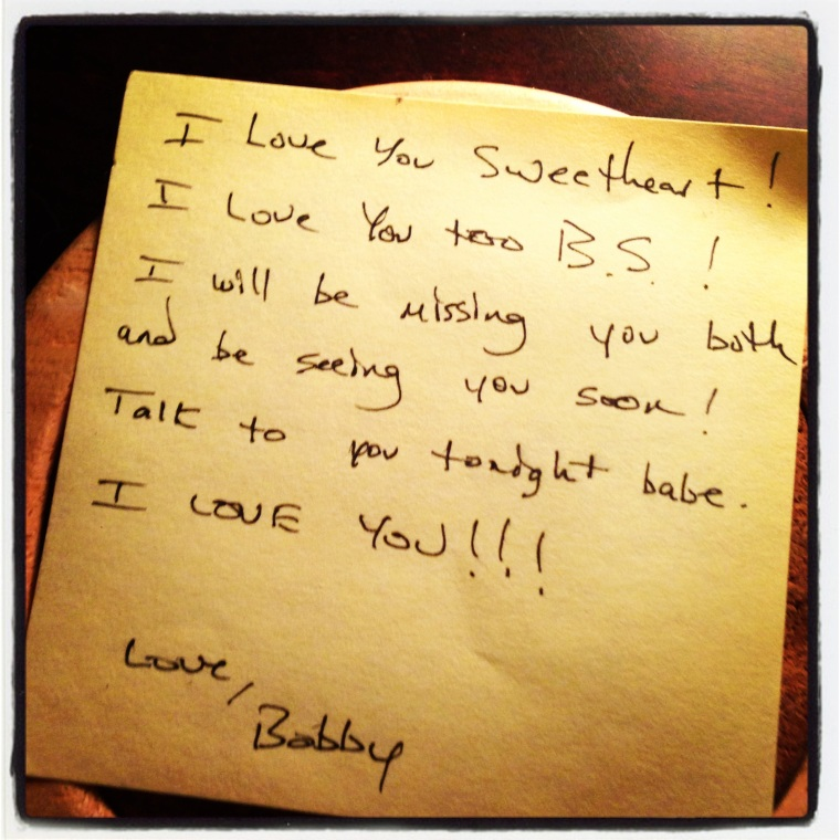Note From Bobby