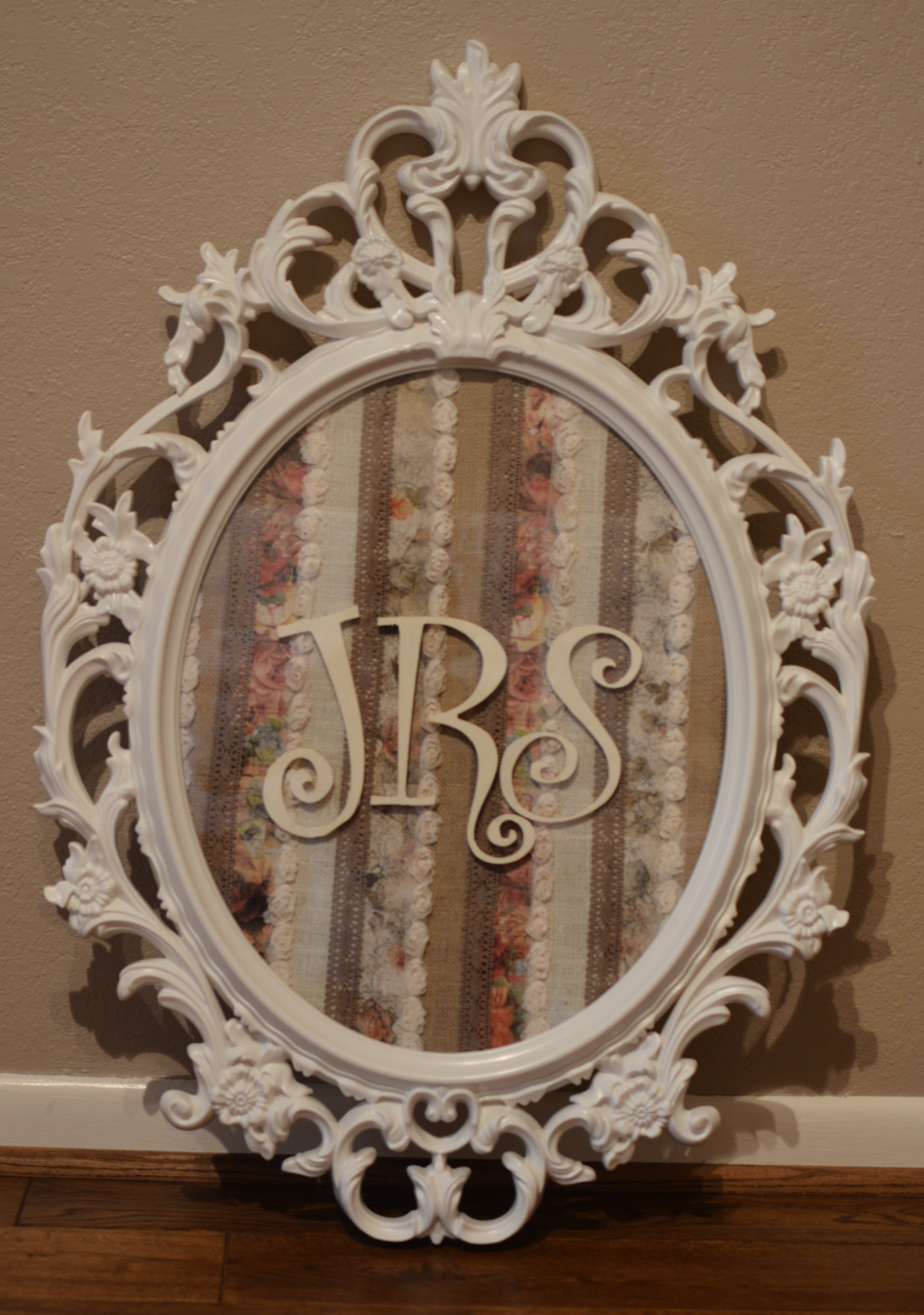 this mirror was purchased on clearance from hobby lobby