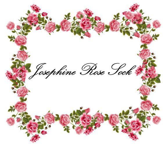 Josephine Rose Sock