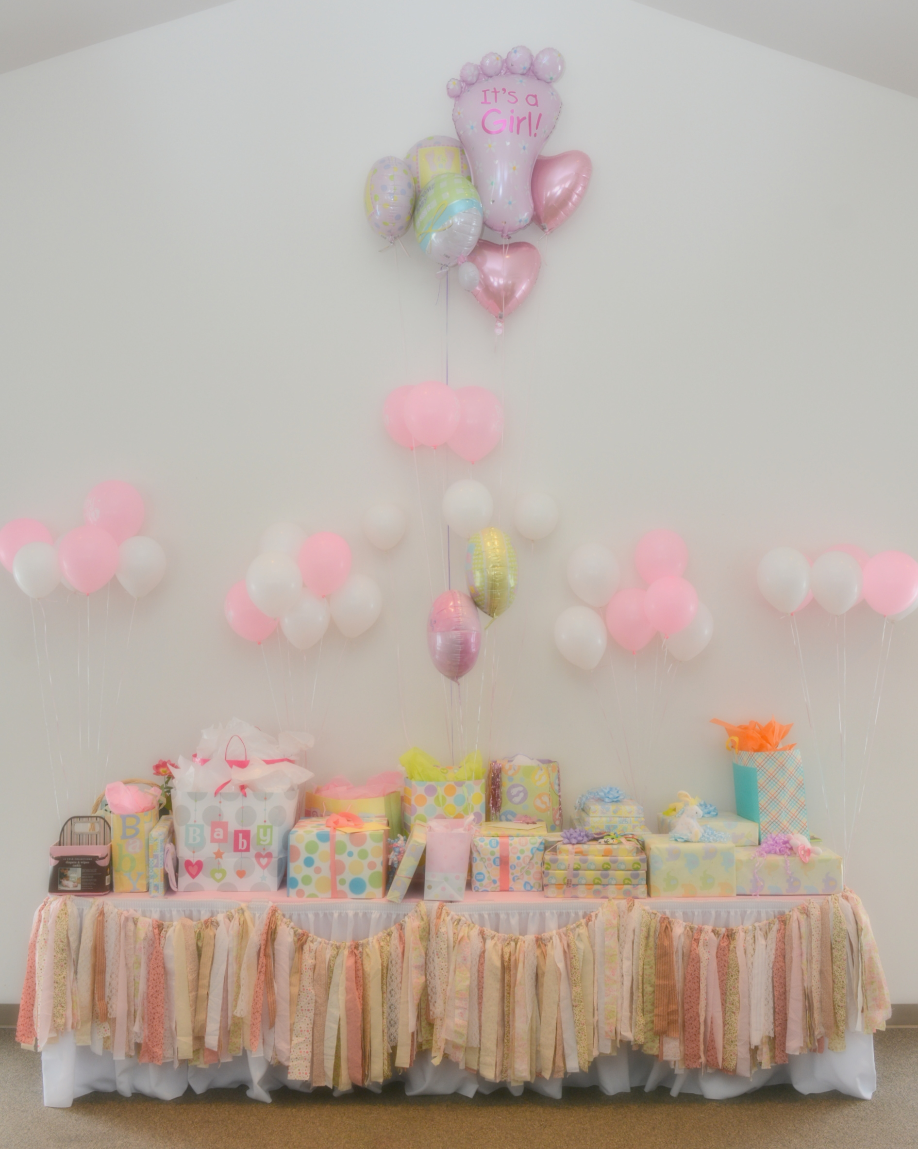A Shabby Chic Baby Shower In Michigan