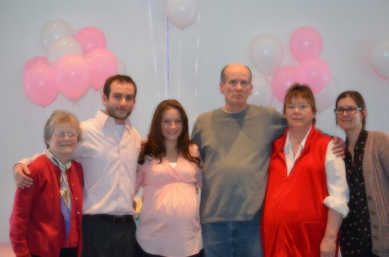 Grandma Bobby Me Dad Denise Jen