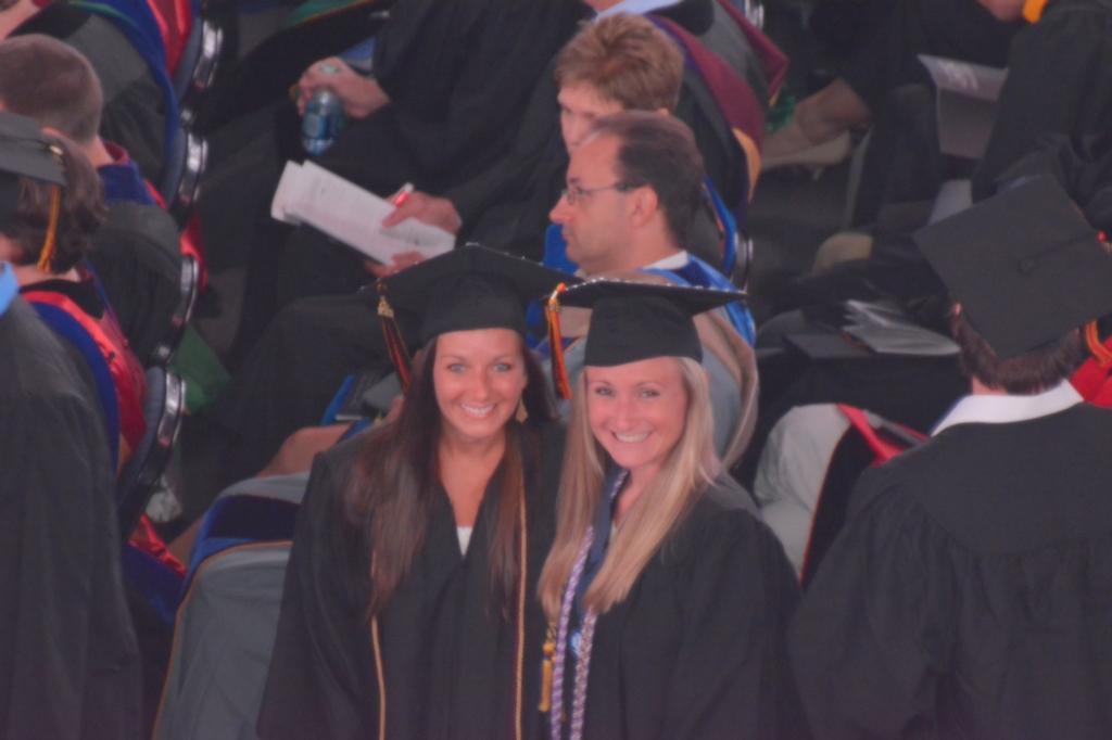 Grad with best friend