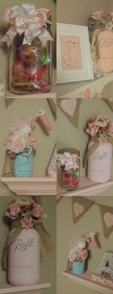 Pink Shelf Collage 2